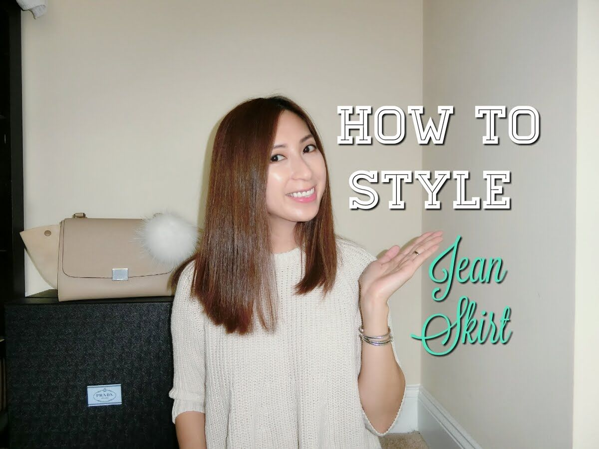 Hello everyone  In today's video I am going to show you how I style the jean skirt for the spring and summer season. Hope you enjoy!!  1. Jean skirt: Online Boutique 2. Fuzzy Sweater: Online Boutique 3. Turtle Neck: Zara 4. Button Up: Banana Republic 5. Tshirt: Madewell 6. Shoes: Jcrew  Please support my channel by subscribing.  It's free :D Much Love http://www.youtube.com/subscription_center?add_user=minimaliststyling@gmail.com --------------------------------  Related Videos  1. How to…
