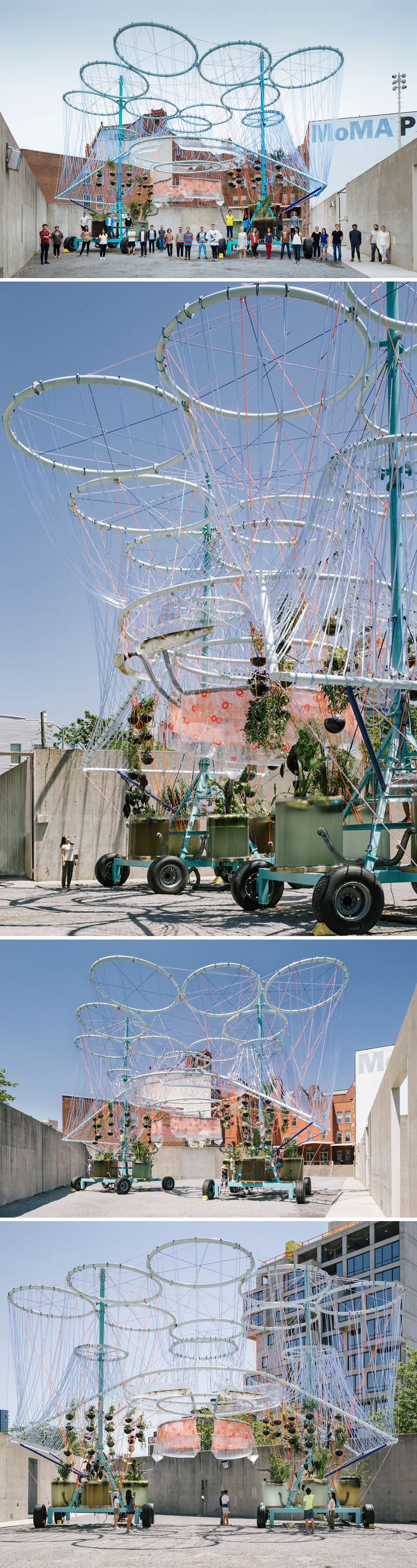 MoMA PS1 YAP COSMO by Andres Jaque fice for Political Innovation Urban Ideas Pinterest