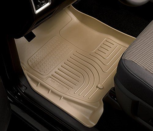 Husky Liners Front 2nd Seat Floor Liners Fits 15 17 Suburban Yukon Xl Floor Mats Flooring How To Clean Carpet