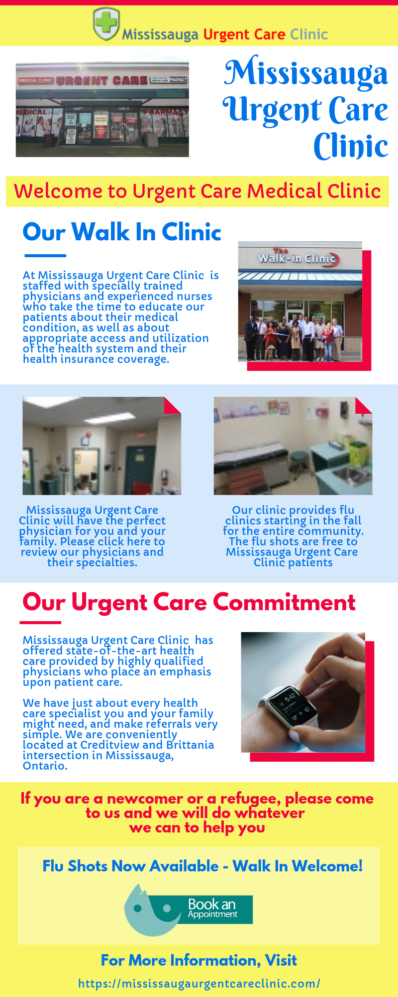 Go Through This Infographic And Know Why Mississauga Urgent Care