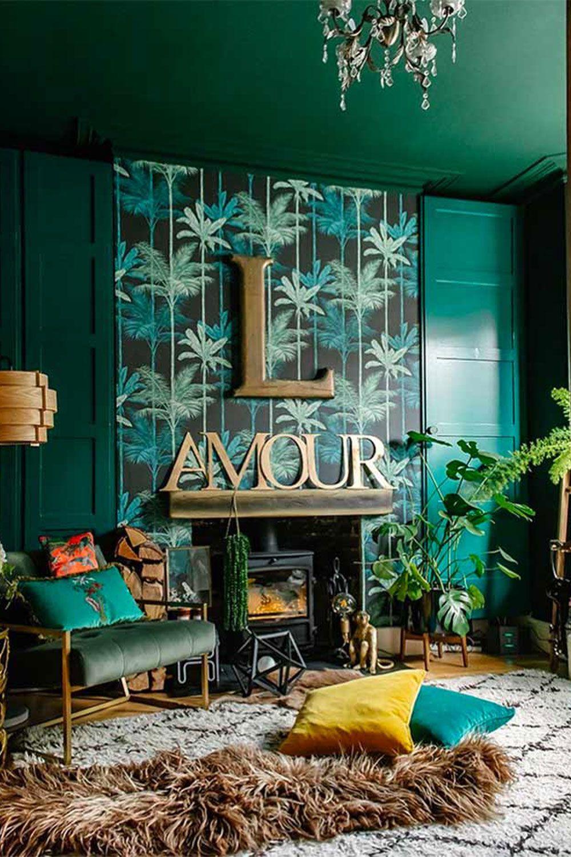 How To Create A Cosy Living Room Cozy Decor In 2020 Green Backdrops Cosy Decor Boho Style Decor
