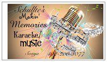 Schulte's Makin' Memories Karaoke/Music