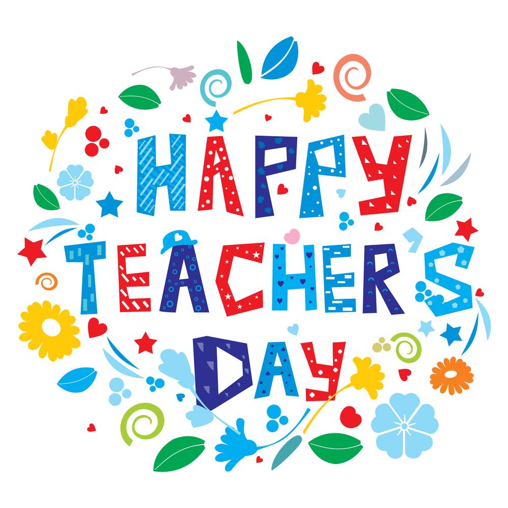 4 Idea Hadiah Hari Guru 2018 Happy Teachers Day Happy Teachers Day Card Teachers Day Card