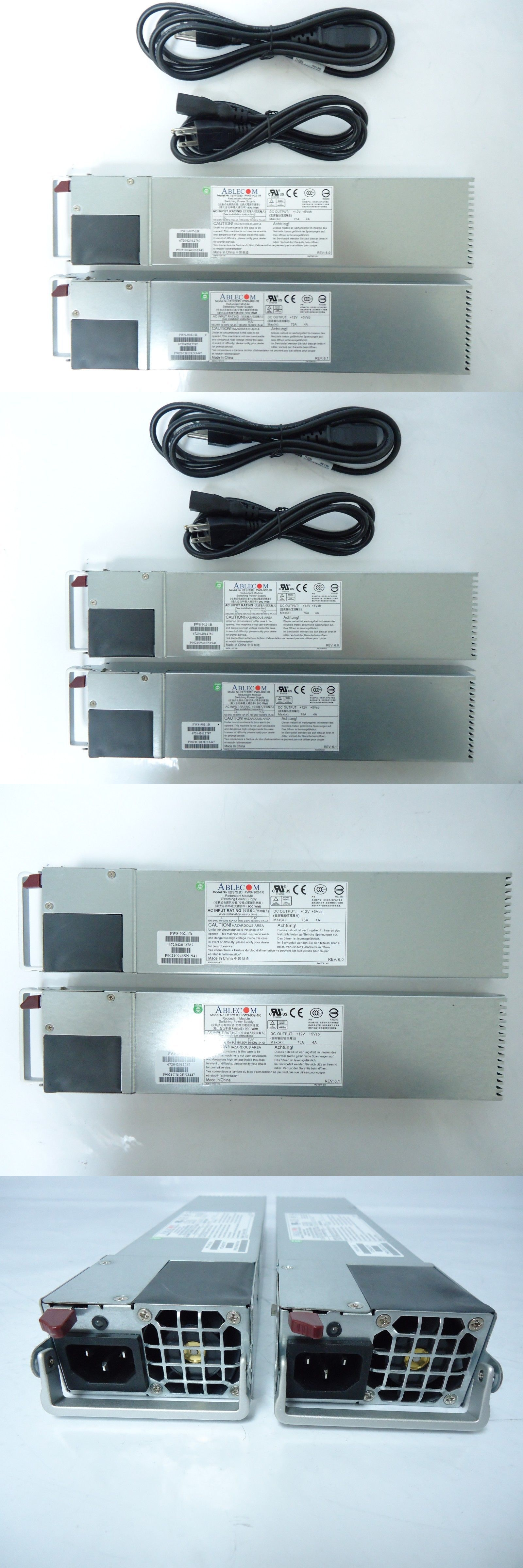 Server Power Supplies 56090 Lot Of 2 New Supermicro Pws 902 1r 900w 1u Server Psu Redundant Power Supply Buy It Now Only 48 On Ebay S Server Power Ebay