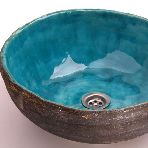 handmade sink ceramic sink waschbecken washbasin sink from clay clay b sink ceramic. Black Bedroom Furniture Sets. Home Design Ideas
