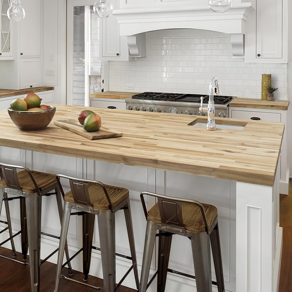 Cover Kitchen Countertops Wood Countertops Kitchen Butcher Block Kitchen Butcher Block Countertops White Cabinets