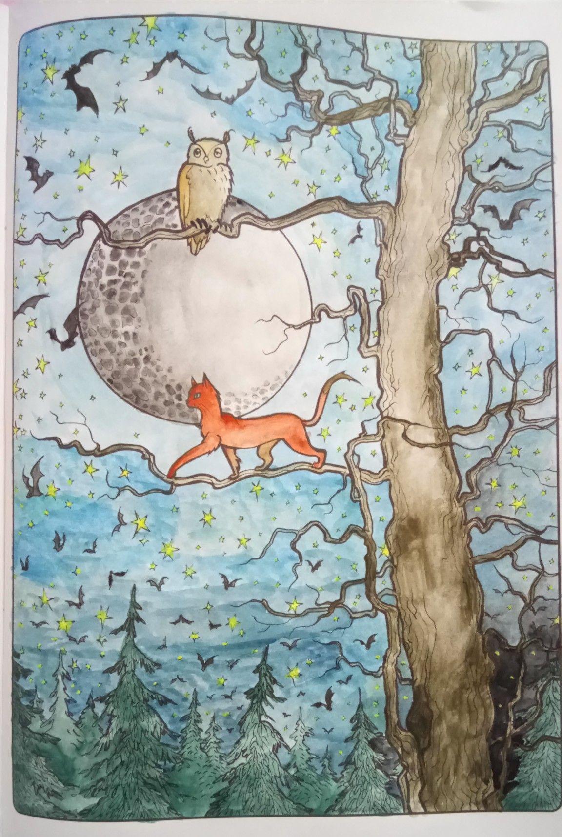 Koty Antystresowa Kolorowanka Z Aforyzmami Halloween Images Art Painting
