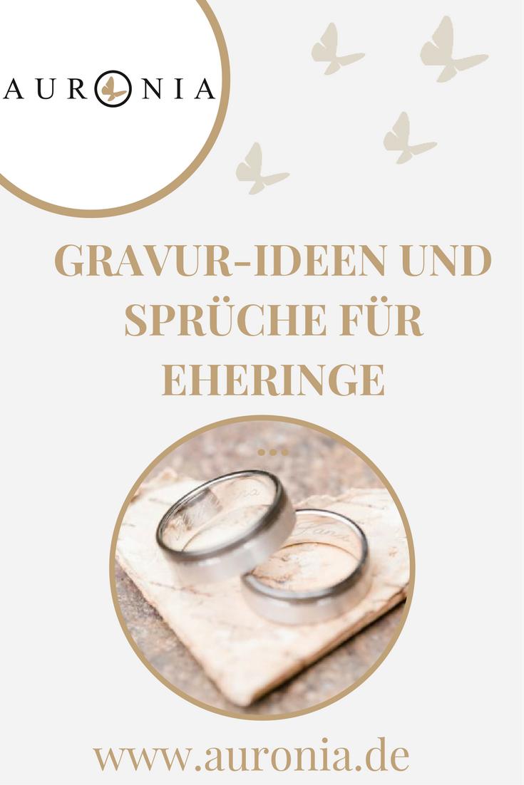 Eheringe liebessprüche für Hochzeitsbräuche Ring