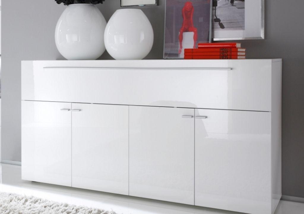 Sideboard Kommode weiß Hochglanz Lack Italien Splendore19 - Küchen Weiß Hochglanz