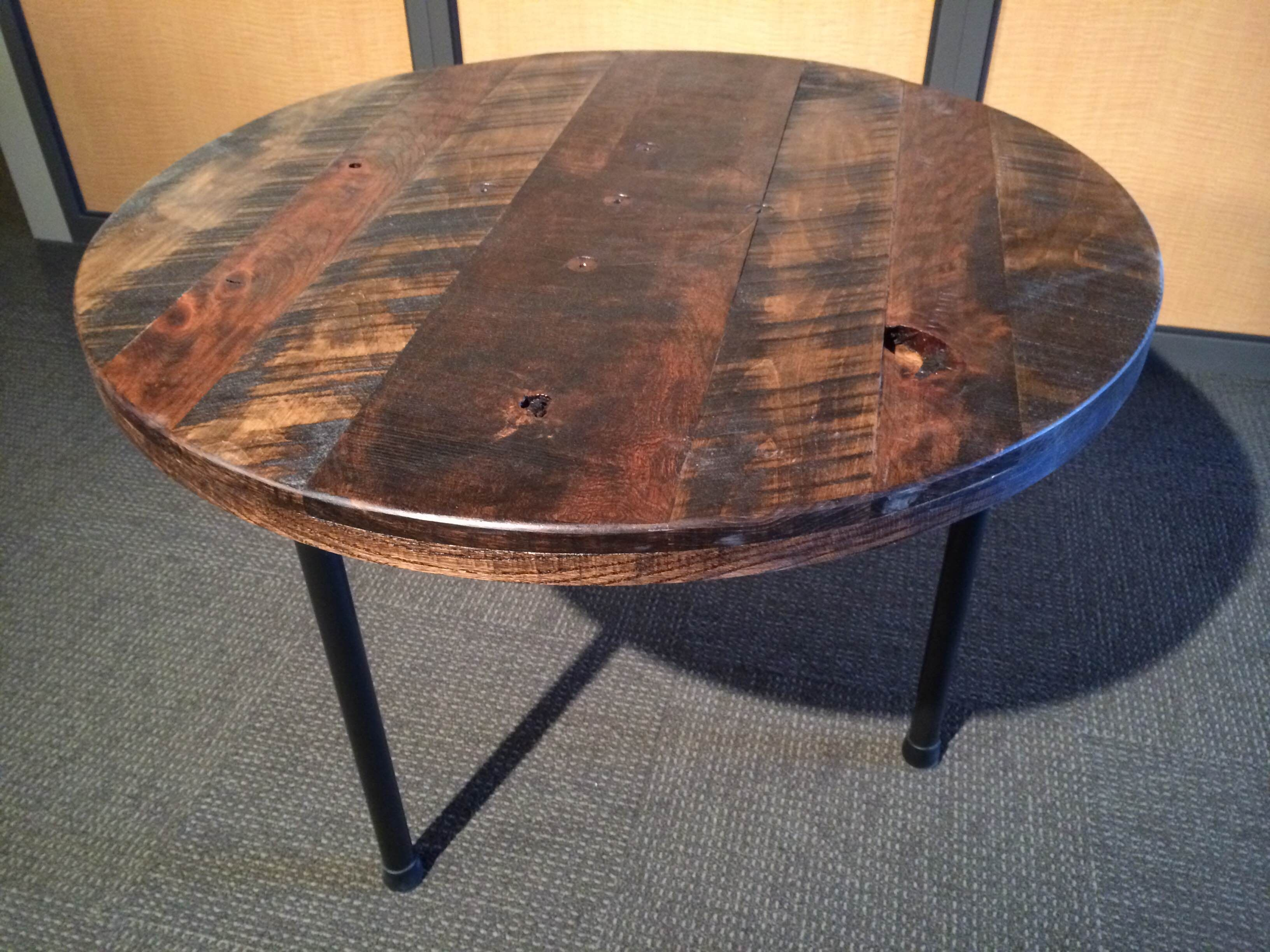 Coffee Table Crafted By Purposeful Design.