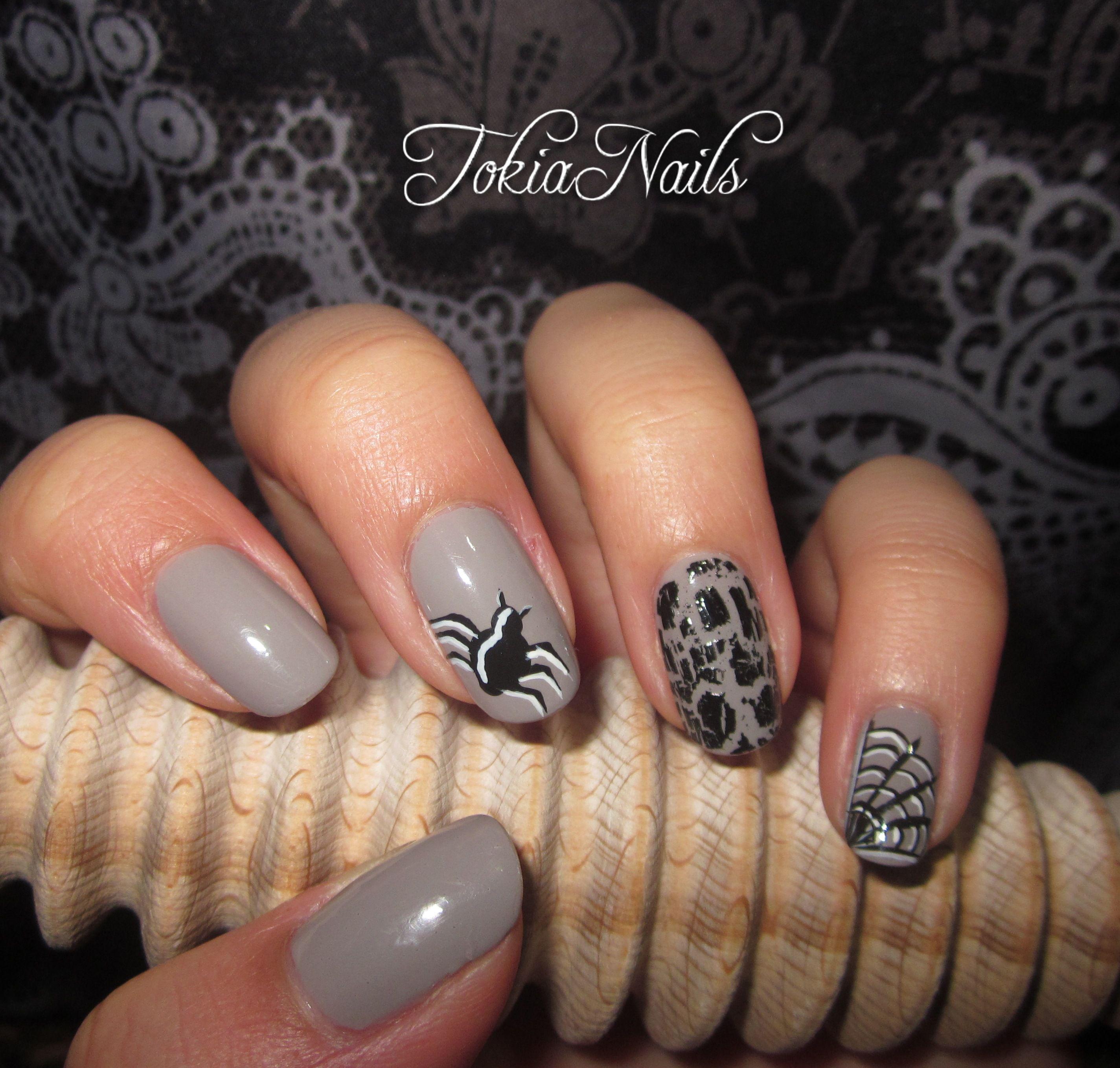 Halloween #nails #nailart #naturalnails #beautifulnails | My strange ...