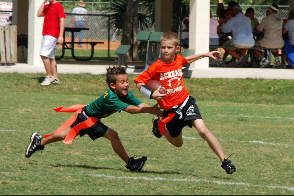 Robot Check Flag Football Youth Flag Football Football Kids