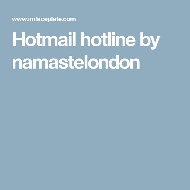 Hotmail Hotline