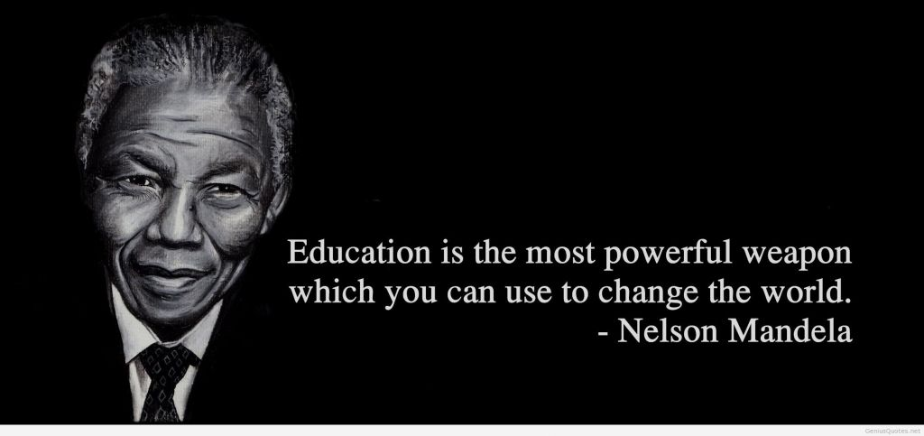 Nelson Mandela Quote On Education Quotes About Education