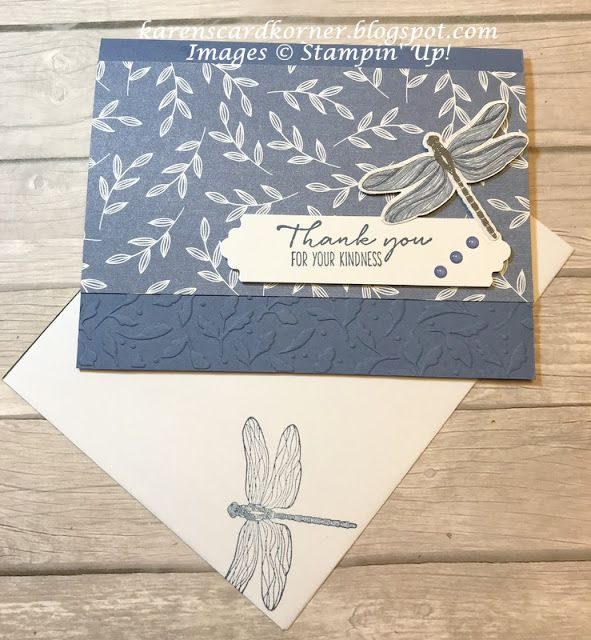 Stampin' Up! Dragonfly Garden for the Happy Inkin'