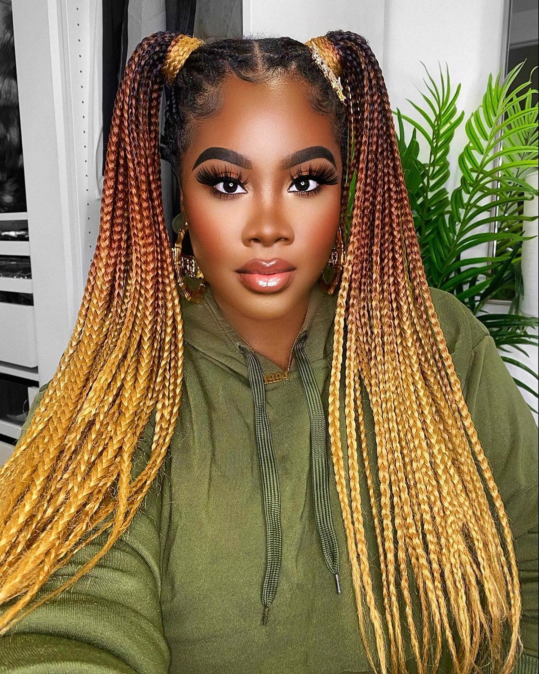 Karla Tobie On Instagram You Become A Powerful Person Once You Learn H In 2020 Protective Hairstyles For Natural Hair African Braids Hairstyles Box Braids Hairstyles