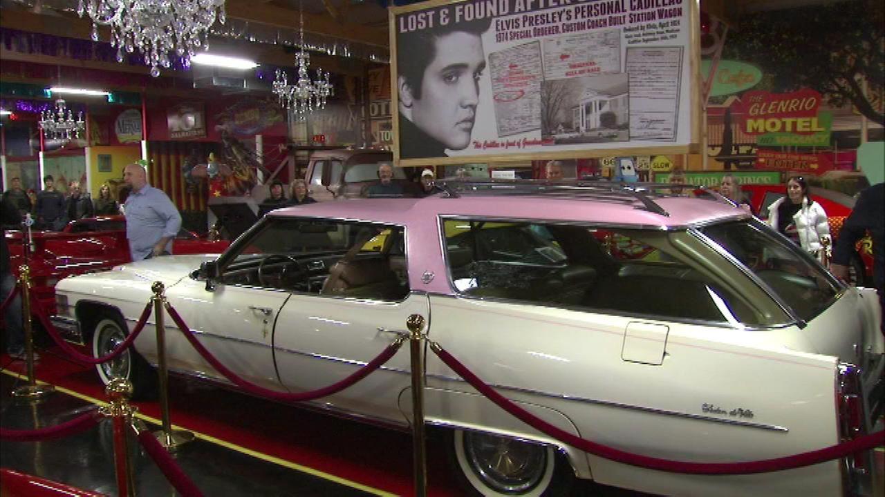 Elvis Presley Cadillac unveiled at Volo Auto Museum   Elvis Presley ...