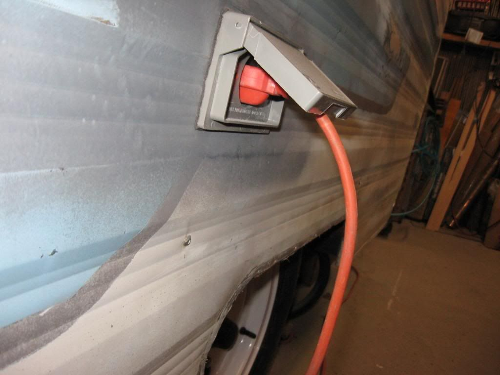 Electrical Dos And Donts In Your Vintage Trailer Shore Power Most Wire Leads To Provide Additional Functions Such As Powering Trailers Have A 15 Amp Inlet It Is Safe For The 110 Lights Few Outlets