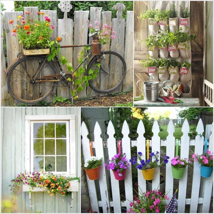 10 Fantastic Fence Planter Ideas For Your Garden ~ Idees And Solutions