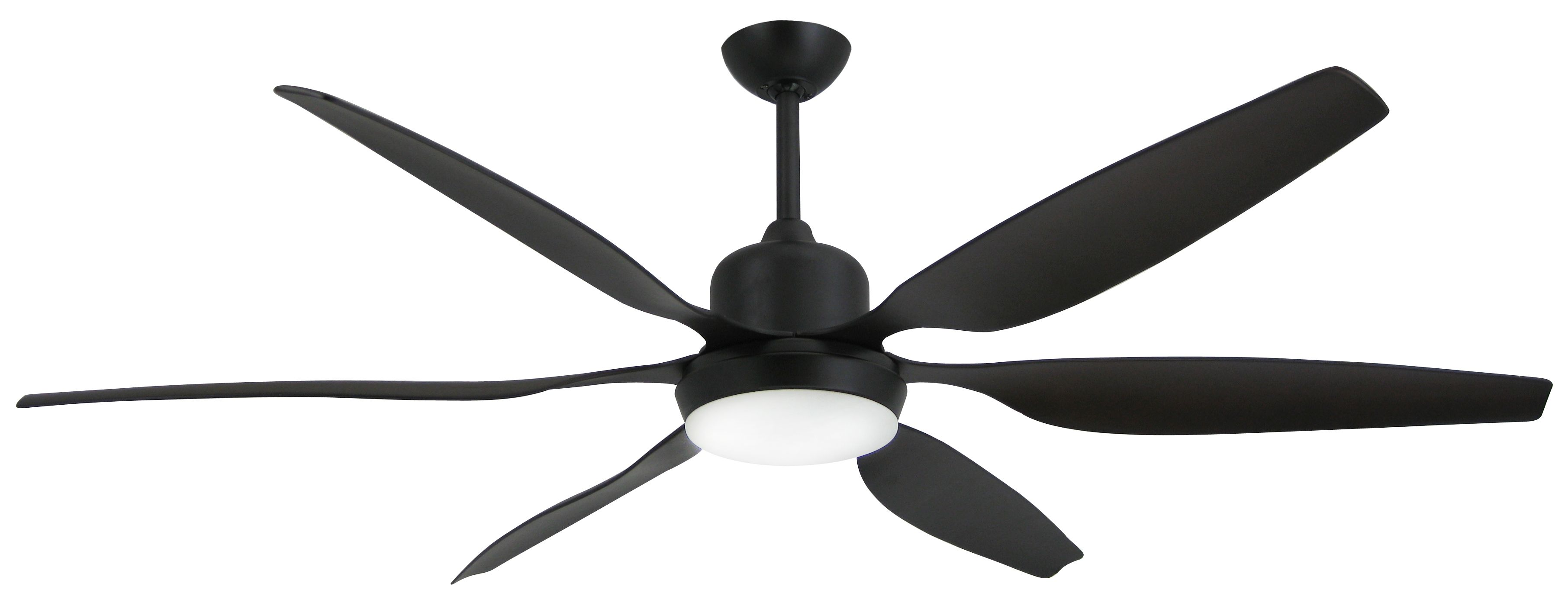 TroposAir Titan Oil Rubbed Bronze Industrial Ceiling Fan