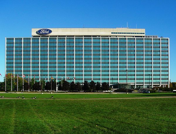 The Glass House Ford World Headquarters In Dearborn Dearborn Michigan Mexico Places To Visit Ford Motor Company