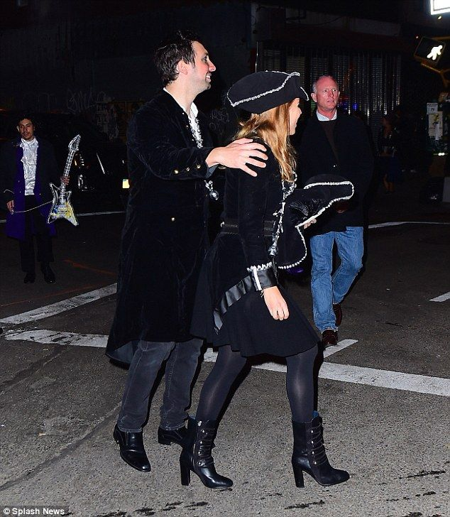 Princess Beatrice Leather Skirt: Mystery Man Is Spotted Putting His Arm Round Single