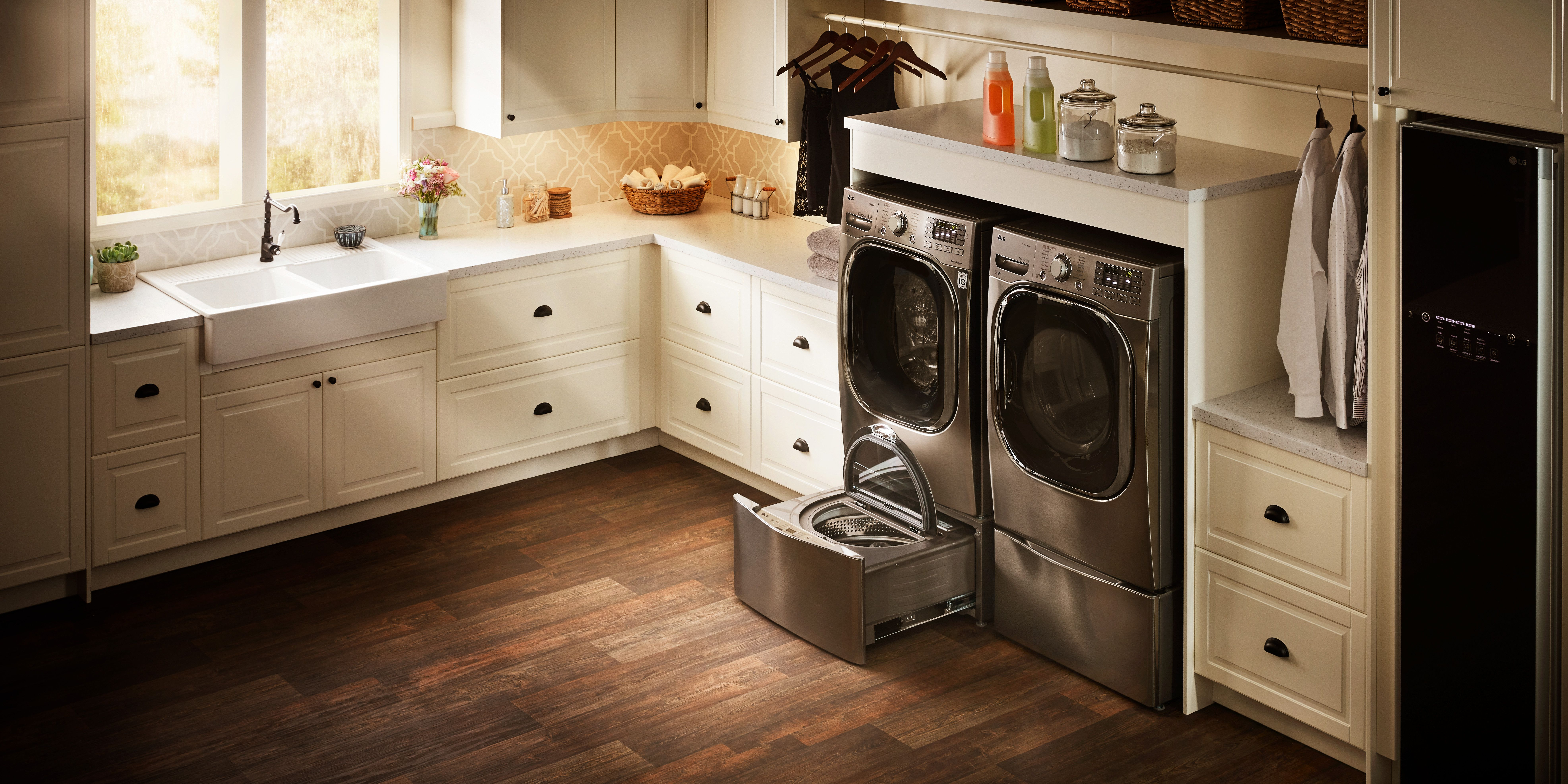 Pin By Nebraska Furniture Mart On Upgrade Your Home Kitchen And Bath Design Laundry Room Storage Cabinet Laundry Room Design