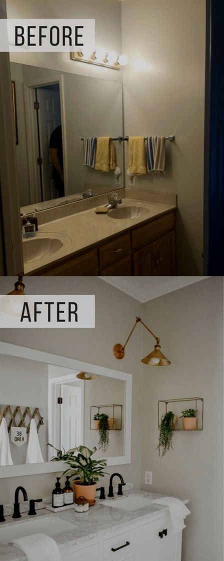 This Modern Boho Bathroom Remodel Was Definitely One For The Books Cool Bathroom Remodeling Books