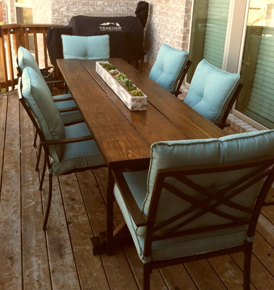 DIY Farm House Table (Ana White plan) (With images