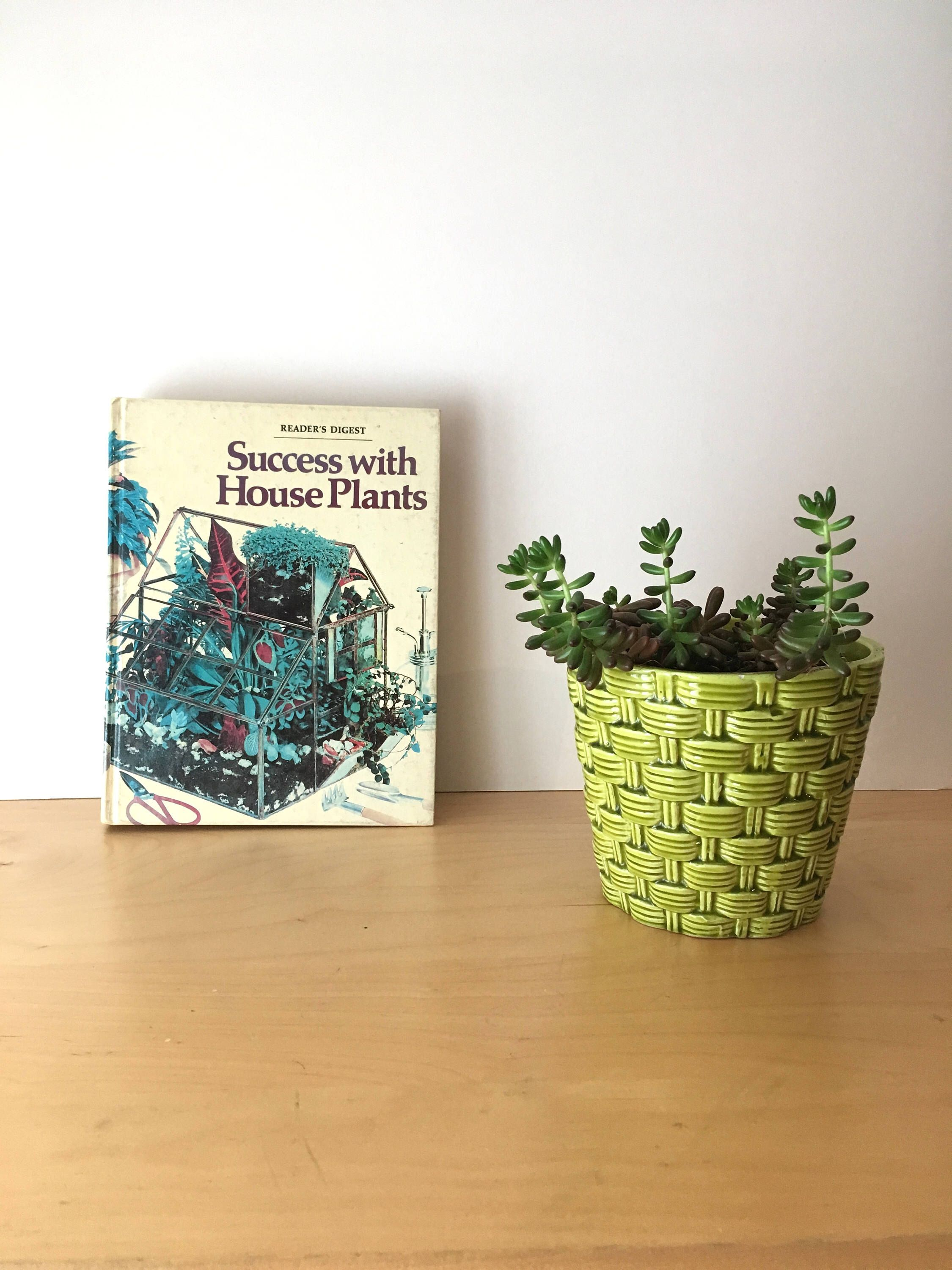 A personal favourite from my Etsy shop https://www.etsy.com/uk/listing/519996802/readers-digest-success-with-house-plants