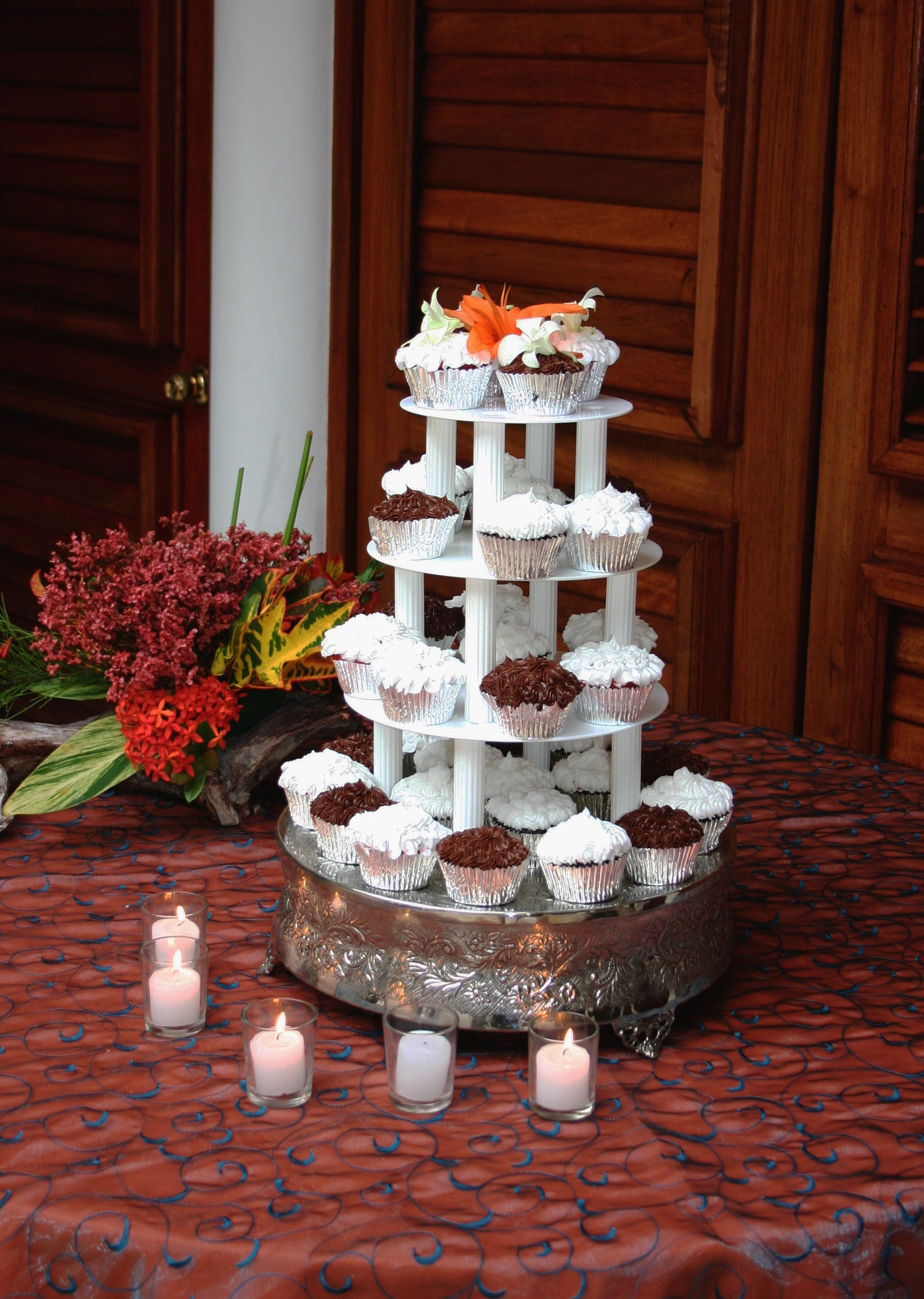 Traditional Puerto Rican Wedding Cake Www Topsimages Com