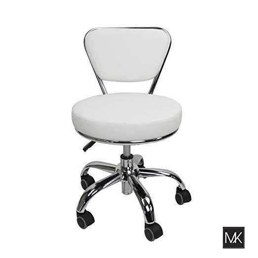 Groovy Amazon Com Mayakoba Salon Nail Pedicure Stool Pedicure Ibusinesslaw Wood Chair Design Ideas Ibusinesslaworg