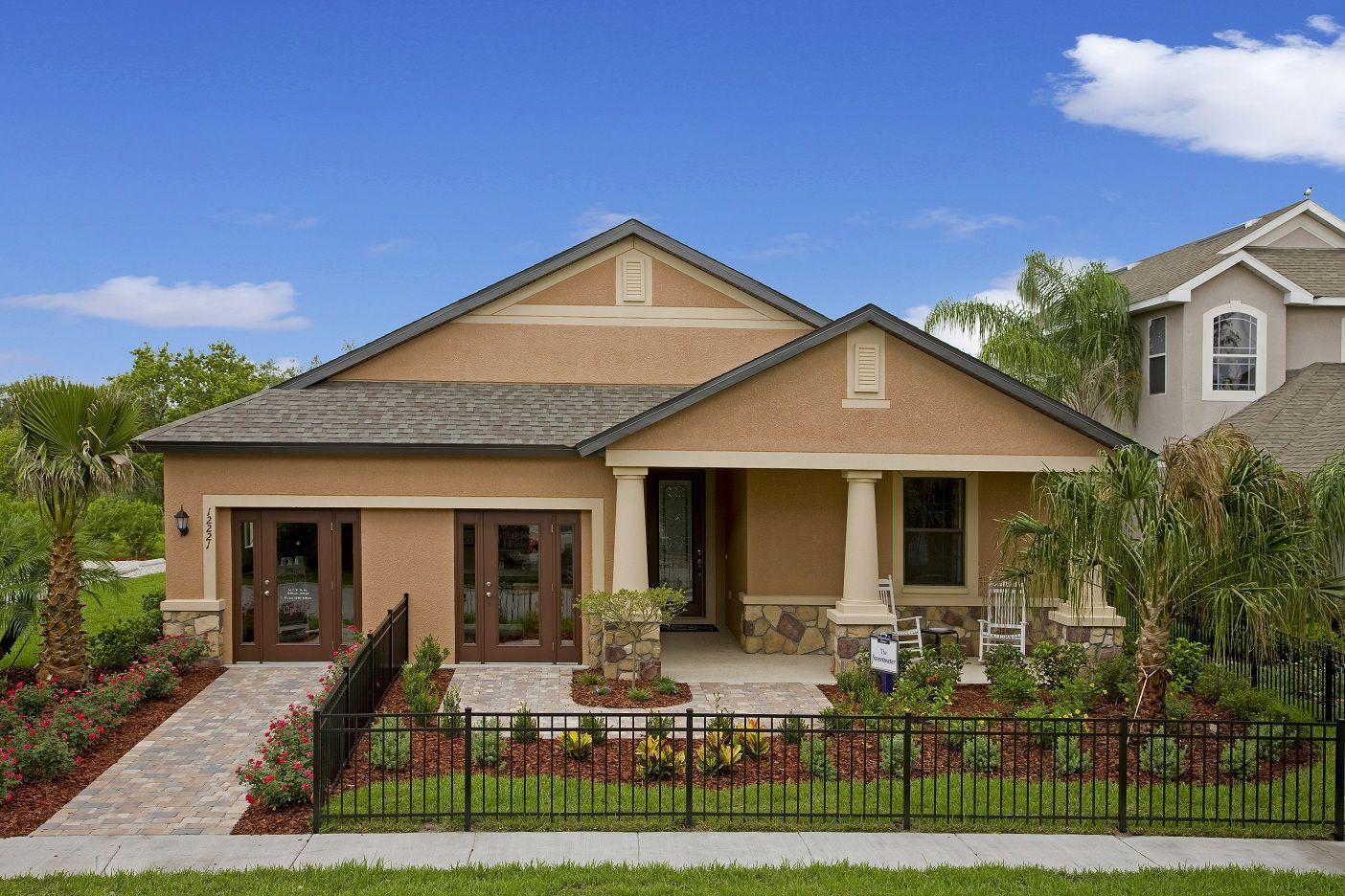 William Ryan Homes Sweeer Model Home At Deerfield Lakes Spring Hill Fl