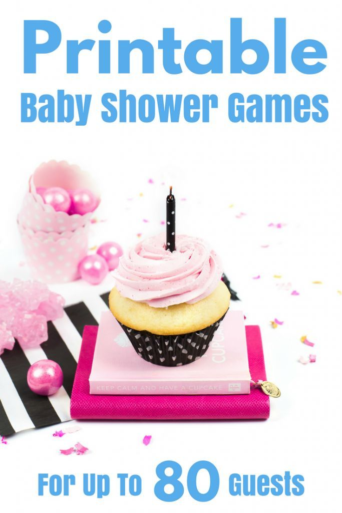 last minute baby shower games