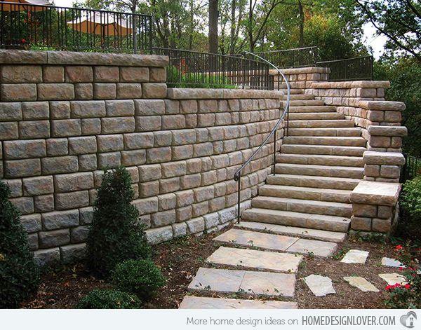 Best 15 Concrete Exterior Staircase Design Concrete Staircase 400 x 300