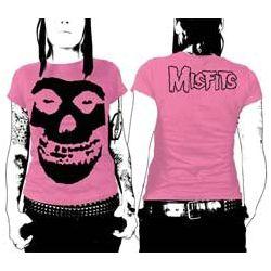 Misfits Black Skull Jr T-shirt