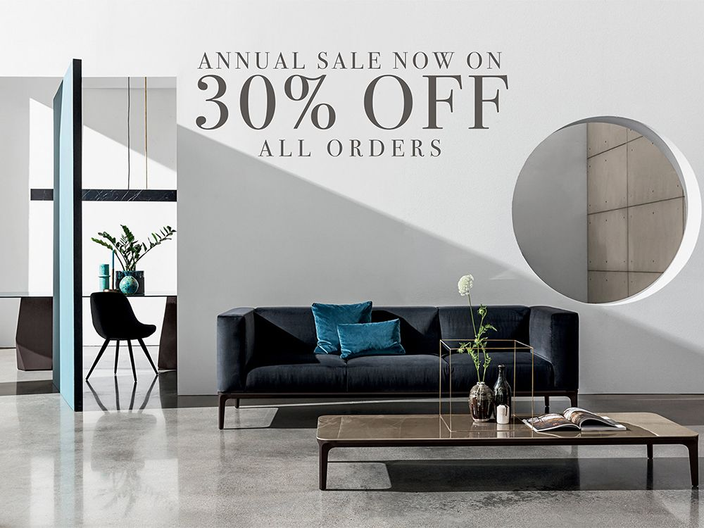 Our Annual Sale Is Now On With 30 Off All Orders No Asterisks No Exceptions All In 2020 Furniture Design Contemporary Furniture Stores Contemporary Interior Design