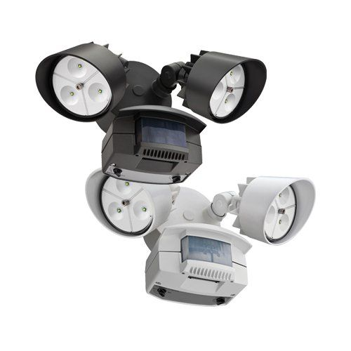 Lithonia Lighting Oflr 6lc 120 Mo Twin Head Led Flood Security Light For The Back Porch Needs A Good There