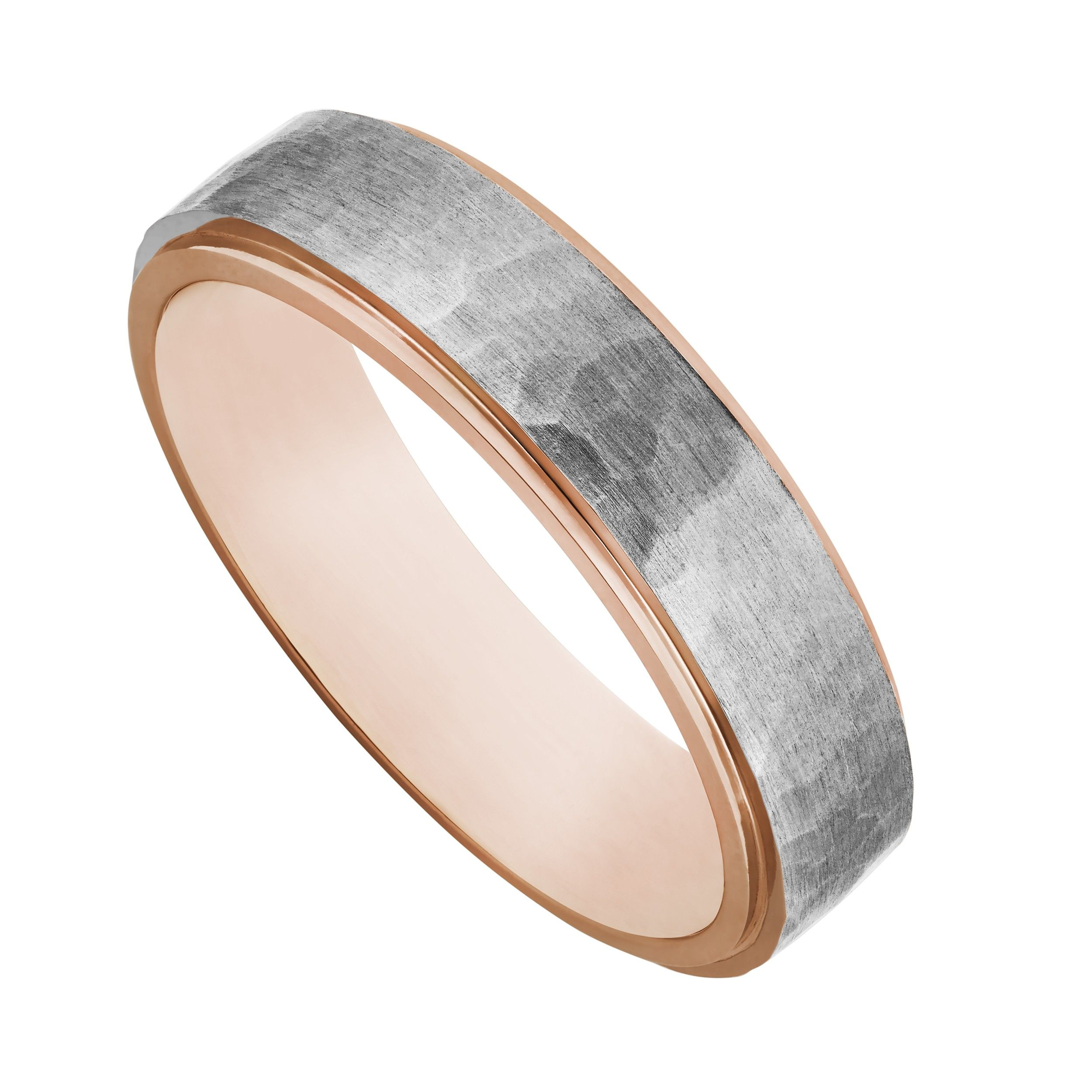 rings two wedding ring uk band titanium at patterned tone p elma