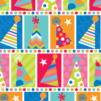 Image for 'Party Hat Check 5' Wrap  '