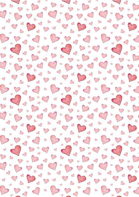 Podglad O Tym Jak Dziewczyna Ze Wsi Zamieszkala W Miescie Pattern Paper Paper Hearts Scrapbook Paper
