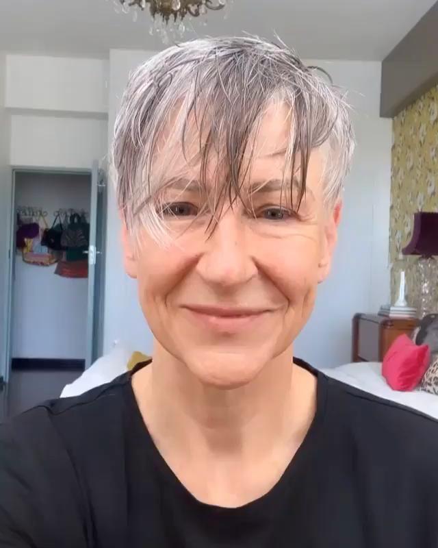 Cabelos Curtos  femininos - Curso de cabeleireiro