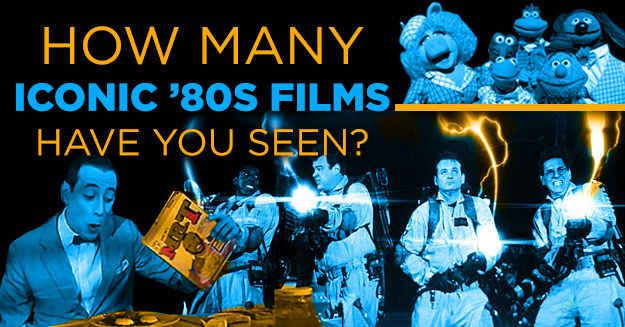 How Many Iconic '80s Films Have You Seen
