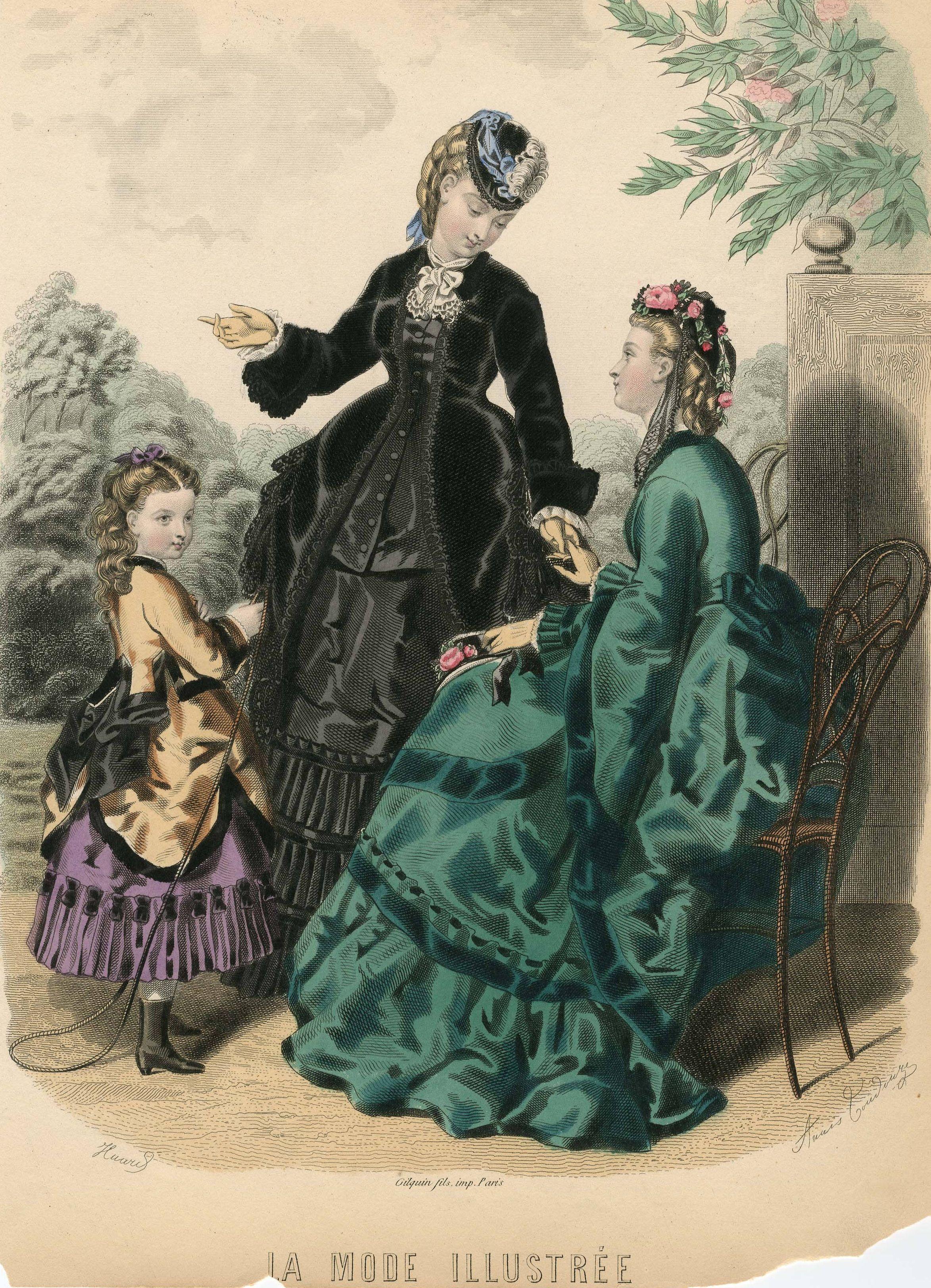 La mode illustr e 1870 exquisite history of fashion for Exquisit mode