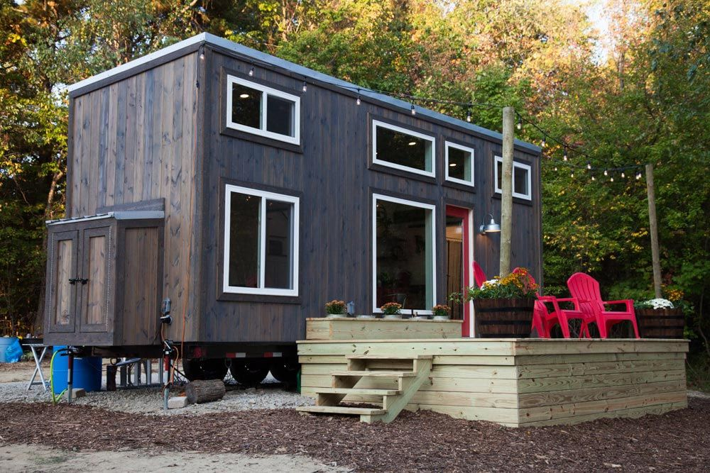 Grand By Modern Tiny Living Tiny Living Tiny House Builders Tiny House Big Living Tiny Houses For Sale