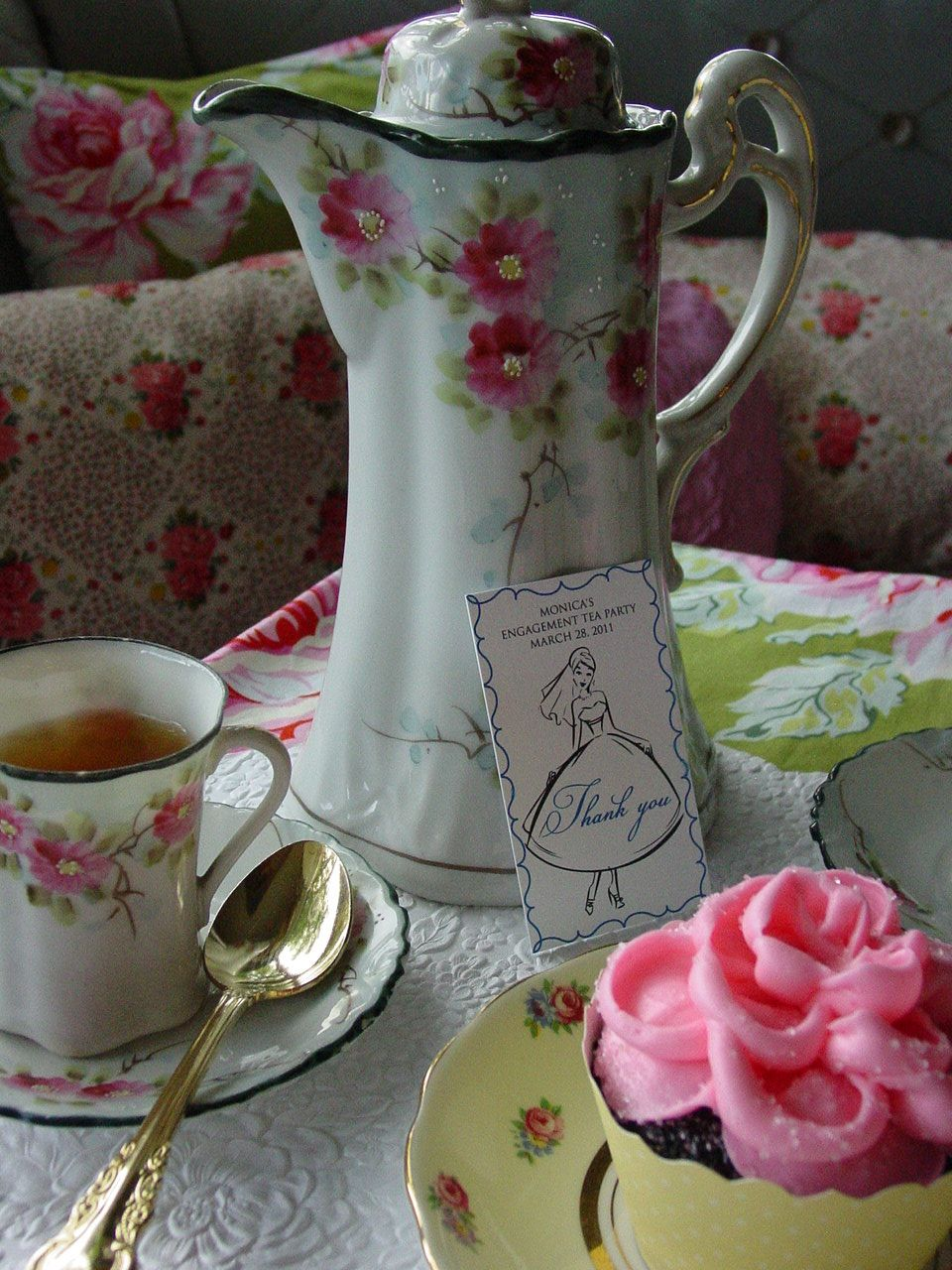Crinoline & Tweed: Vintage Tea Party Bridal Shower