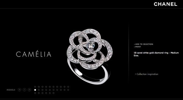 ea5221a23 Customise Chanel Camellia Ring from Fine Jewellery Collection - PurseForum