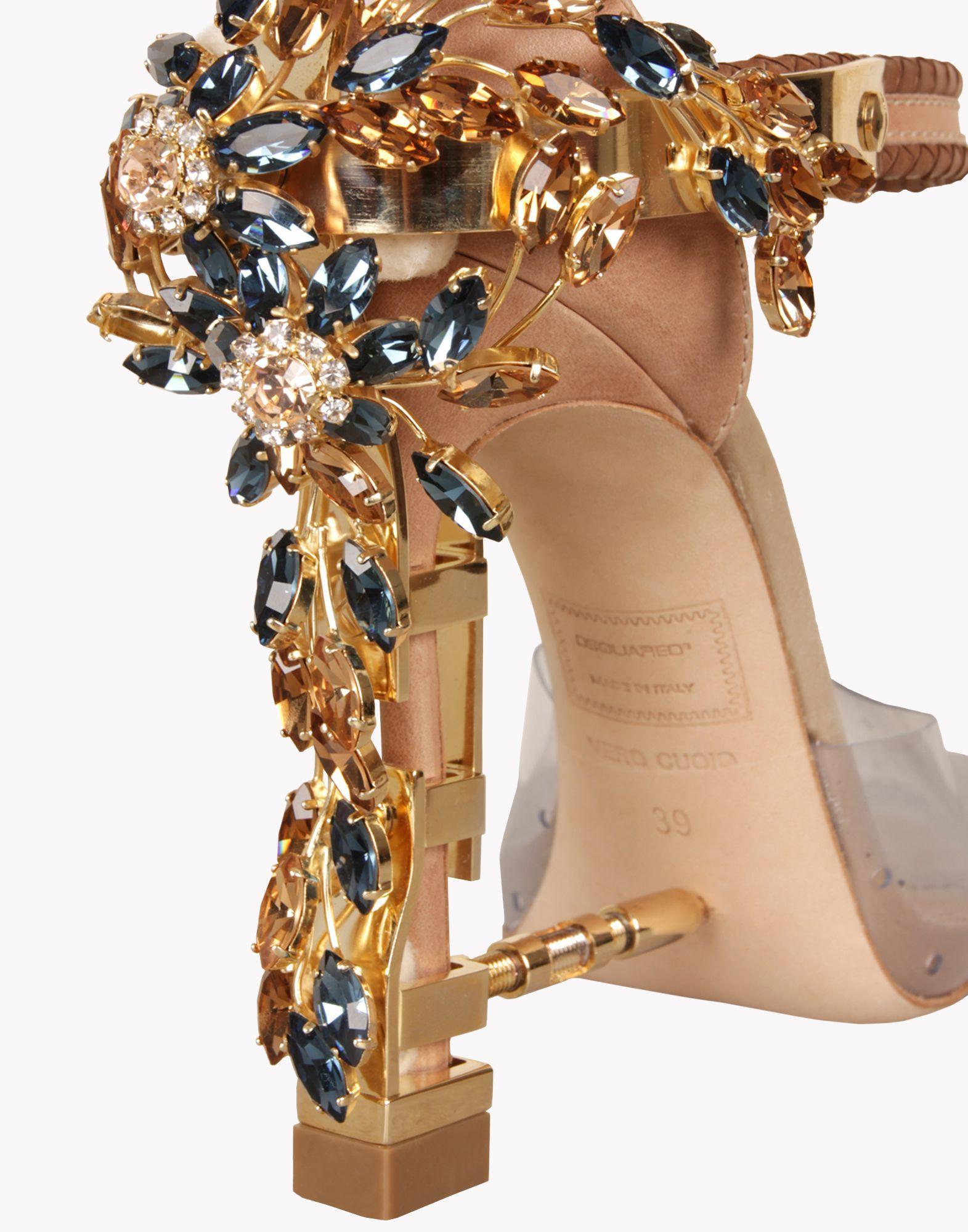 Virginia Official Heeled High Women Sandals Dsquared uJ1Kl3TFc