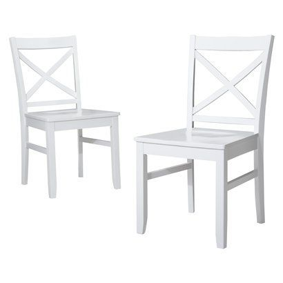 Peachy Carey Dining Chair Black Set Of 2 Threshold Wish Pabps2019 Chair Design Images Pabps2019Com