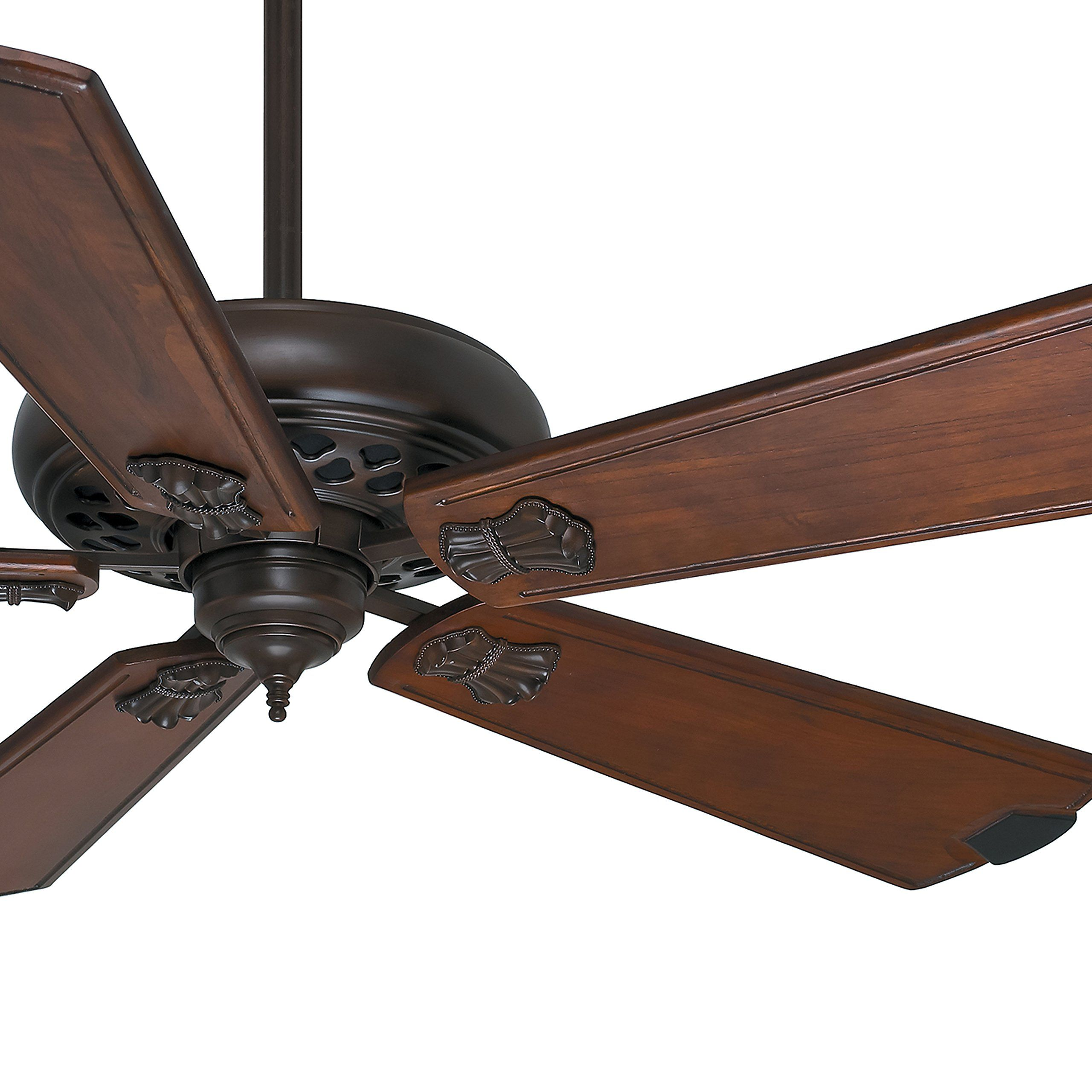 Casablanca traditional 60 in ceiling fan in brushed cocoa with 5 ceiling fan in brushed cocoa with 5 walnut blades and wall control certified refurbished you can find more details by visiting the image link mozeypictures Image collections